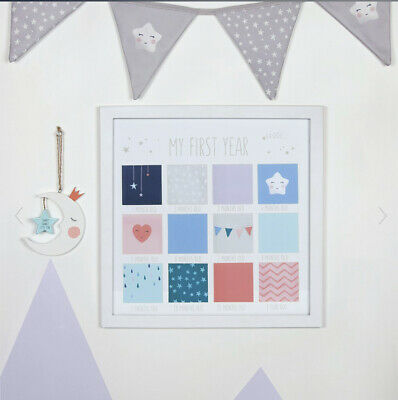 £14 • Buy My First Year Baby Photo Frame