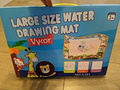 £10 • Buy Large Size Water Drawing Mat Children's Fine Motor Skills Toy