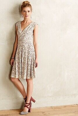 $ CDN93.38 • Buy Anthropologie Brushed Lace Dress By Maeve New Sz. M