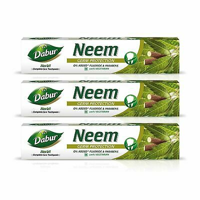 £28.95 • Buy Dabur Herb'l Neem - Germ Protection Toothpaste With No Added Fluoride 200g X 3
