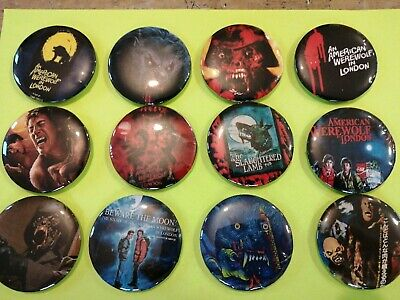 £4.99 • Buy An American Werewolf In London Unofficial Set Of 12 Badges. New