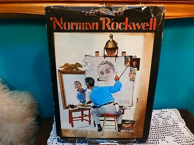 $ CDN10 • Buy The Best Of Norman Rockwell Book 40 Posters Illustrations Suitable Framing 1979