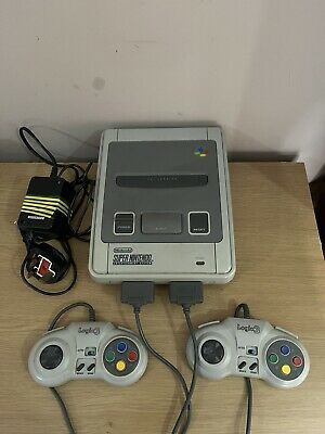 £45 • Buy Super Nintendo SNES 2 X Original Controllers + Power Cable | Working