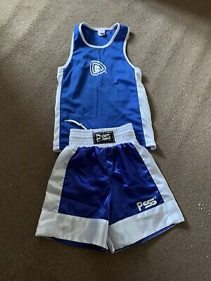 £5 • Buy Boxing Shorts And Vest Age 9-10