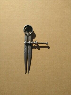 £6 • Buy Vintage Moore And Wright 100 Mm Divider Spring Inside Calipers. Made In Sheffiel