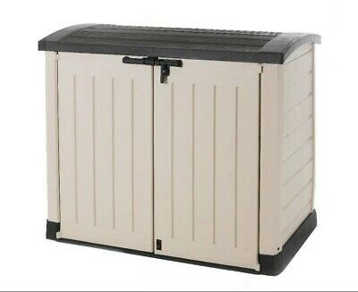 £269.99 • Buy Brand NEW Keter Store It Out Arc Garden Storage Box Shed Outdoor BeigeBrown1200L