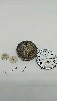 £1300 • Buy Minute Repeater Pocket Watch Movement Calendar Moon Phase