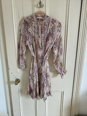 £10.50 • Buy Stunning Reiss Floral Dress Size 6 RRP £159.00