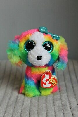 £5 • Buy Ty Beanie Boo Lola The Dog Collectable Toy Gift Teddy Plushie