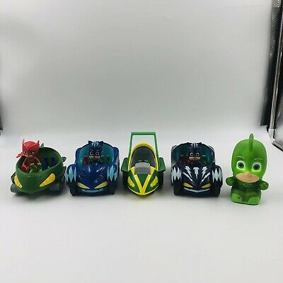$29.98 • Buy PJ Mask Figures And Vehicles Lot Of 8          PJ 13