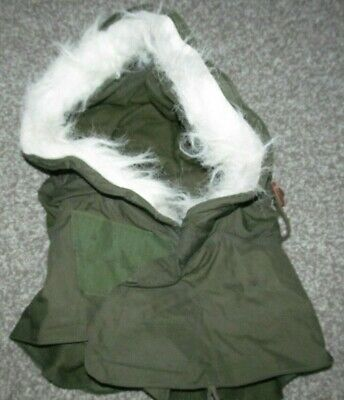 $9.95 • Buy OG-107 Extreme Cold Weather Hood W/ Synthetic Fur Ruff M-51 Fishtail M-65 Parka
