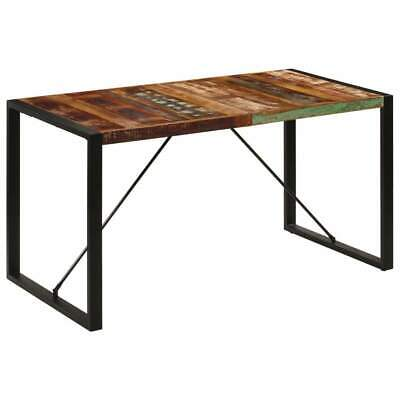 AU281 • Buy Dining Table 140x70x75 Cm Solid Reclaimed Wood