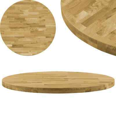 AU208 • Buy Table Top Solid Oak Wood Round 44 Mm 800 Mm