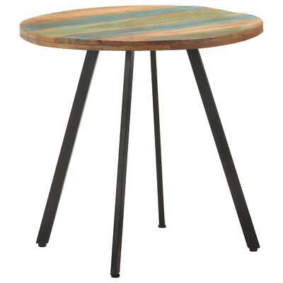 AU181 • Buy Dining Table 80 Cm Solid Reclaimed Wood