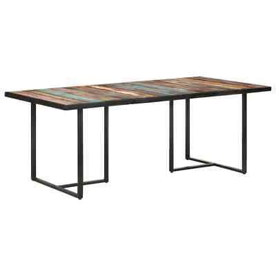 AU396 • Buy Dining Table 200 Cm Solid Reclaimed Wood