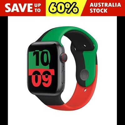 AU9.95 • Buy For Apple Watch IWatch Band Series 6 5 4 3 SE Silicone Sport Strap 38/40/42/44mm