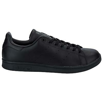 AU108.74 • Buy Men's Adidas Originals Stan Smith Lace Up Casual Trainers In Black