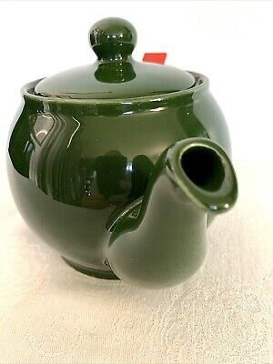 £21.63 • Buy VINTAGE Chatsford England Forest Green Teapot W/ Strainer London Tea Company