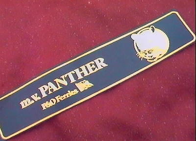 £5 • Buy P & O    FERRIES      Mv PANTHER    New     LEATHER