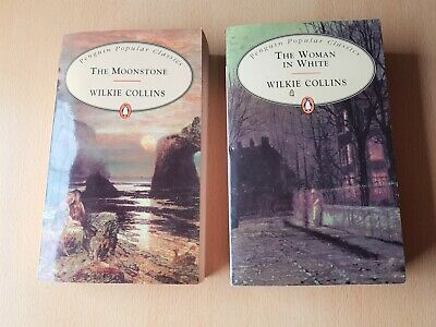 £3.80 • Buy WILKIE COLLINS Books - The Moonstone And The Woman In White Penguin Classics