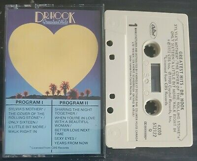 £3.95 • Buy Dr Hook - Greatest Hits - Cassette Tape - NMint Canadian Issue 1980 Capitol