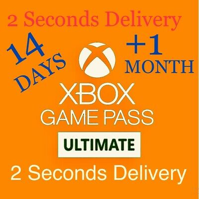 $ CDN4.33 • Buy Xbox 1 Month (Ultimate) Game Pass + Live Gold (14 Day Trial) Code Global Card