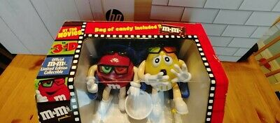 $11.99 • Buy Vintage M&M 3D Movie Theater Seats Dispenser -Red & Yellow -In Package (NO CANDY
