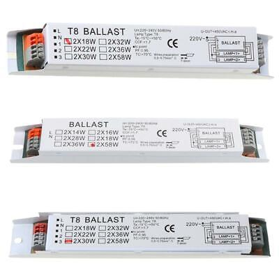 £6.33 • Buy T8 220-240V AC 2x58W Wide Voltage Electronic Ballast Fluorescent Lamp Ballasts