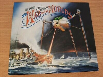 £6.99 • Buy Jeff Wayne's Musical Version Of The War Of The Worlds * 2 Disc CD Set * Like New