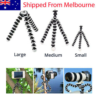 AU14.98 • Buy Octopus Universal Tripod Stand Holder Mount For IPhone Samsung Phone Camer AU
