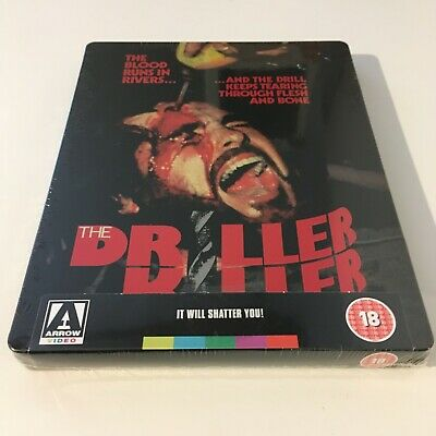 £24.95 • Buy The Driller Killer - Limited Edition Steelbook Blu-ray Arrow Video NEW & SEALED