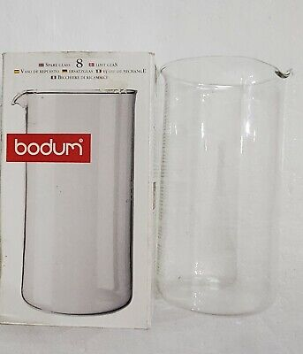 £14.54 • Buy Bodum Spare Glass For French Press Coffee Maker, 8 Cup, 34oz
