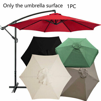 AU33.34 • Buy AU 2m/3m Replacement Fabric Garden Parasol Canopy Cover 6 Or 8 Arm New