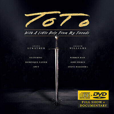 £17.99 • Buy Toto - With A Little Help From My Friends (2021, Mascot Records) CD/DVD Album