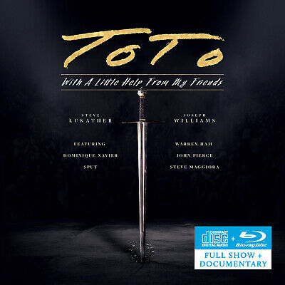 £19.99 • Buy Toto - With A Little Help From My Friends (2021) CD/Blu-ray Album