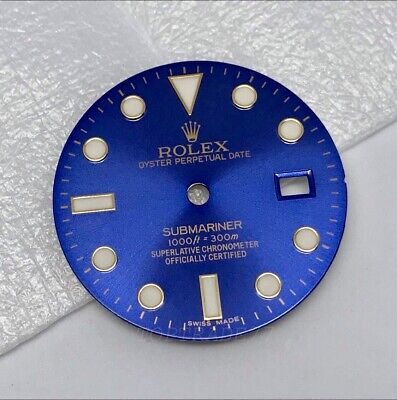 $ CDN519.88 • Buy Rolex Submariner 116613LB Aftermarket Blue Dial For 3135 Movement