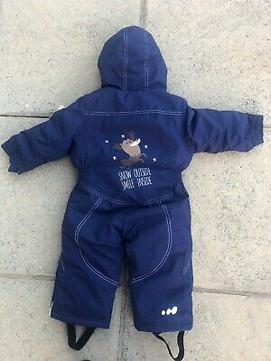 £24.99 • Buy BOYS WEDZE Padded SNOW SUIT, SKI SUIT, AGE 9-12 MONTHS , FAB CONDITION