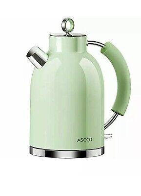 £24.90 • Buy ASCOT Electric Cordless Kettle 3000W Fast Boil Stainless Steel In Matte Silver