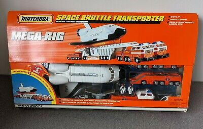 £30.95 • Buy Matchbox Mega-Rig Space Shuttle Transporter 1997 COMPLETE GREAT CONDITION