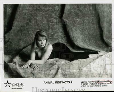 $ CDN17.47 • Buy 1994 Press Photo Actress Shannon Whirry In  Animal Instincts 2  Movie