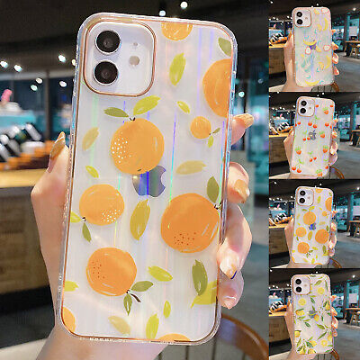 AU9.39 • Buy Pattern Case For IPhone 12 11 Pro Max XR 7 8 Plus Shockproof Cute Fruits Cover