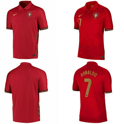 £22.99 • Buy NEW Portugal Home Shirt 2020/21 EURO Football Jersey Adult