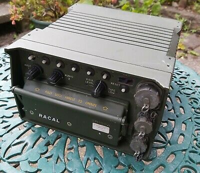 £245 • Buy Racal Army Military Radio Monitoring Tape Recorder