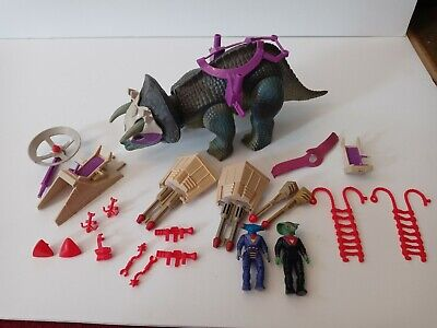 £122.46 • Buy Dino Riders Triceratops Tyco Vintage 1987 Dinosaur Complete And Working!!