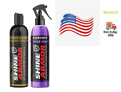 $55.99 • Buy Fortify Quick Coat & Leather Cleaner & Conditioner Protector,Ceramic Car Coating