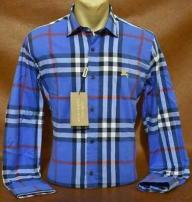 $39.90 • Buy NWT Brand New Men's BURBERRY Long Sleeve Shirt Size Small To 2XL