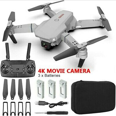 £28.50 • Buy 2021 Drone RC Drones Pro 4K HD Camera GPS WIFI FPV Quadcopter Foldable Bag <NEW>