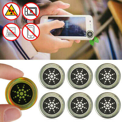 £3.49 • Buy 6/12x Anti Radiation Protection Sticker EMF Protector Quantum Shield For Phone