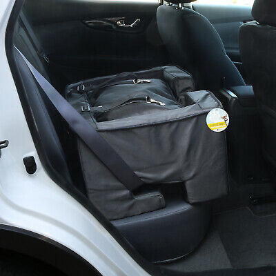 £42.99 • Buy Me & My Pets Black Travel Booster Seat/bed Dog/puppy/cat Safety Car Carrier/cage