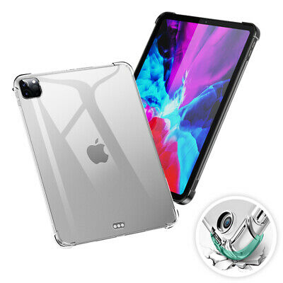 AU15.99 • Buy Clear Case For Apple IPad 10.2  /Air 4 / Mini 5 / Pro 12.9 (2020) Silicone Cover